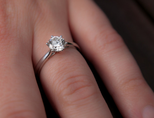 What's That Sparkle on Your Finger?